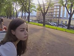 Russian Girl Picked Up For Spycam Doggystyle Drill